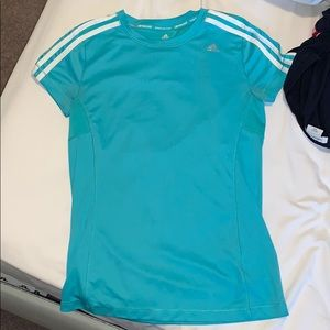 CHILDRENS LARGE ADIDAS CLIMACOOL SHIRT